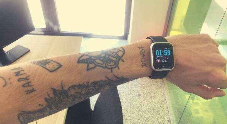 smartwatch oficina