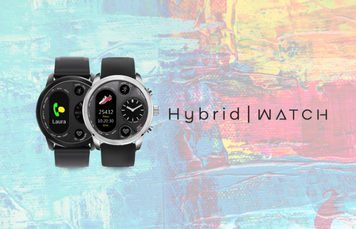 A digital or analogue watch? Wonder no more with the Hybrid Watch.