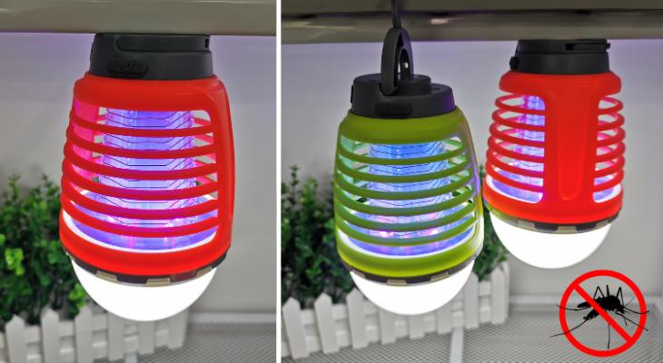 The perfect portable anti-mosquito lantern