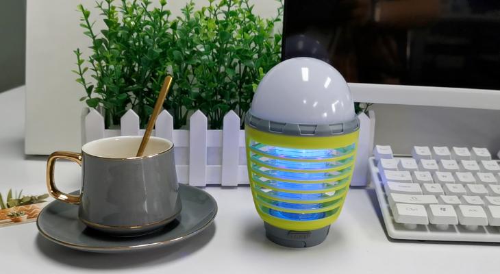 La lampe portable anti-moustique parfaite